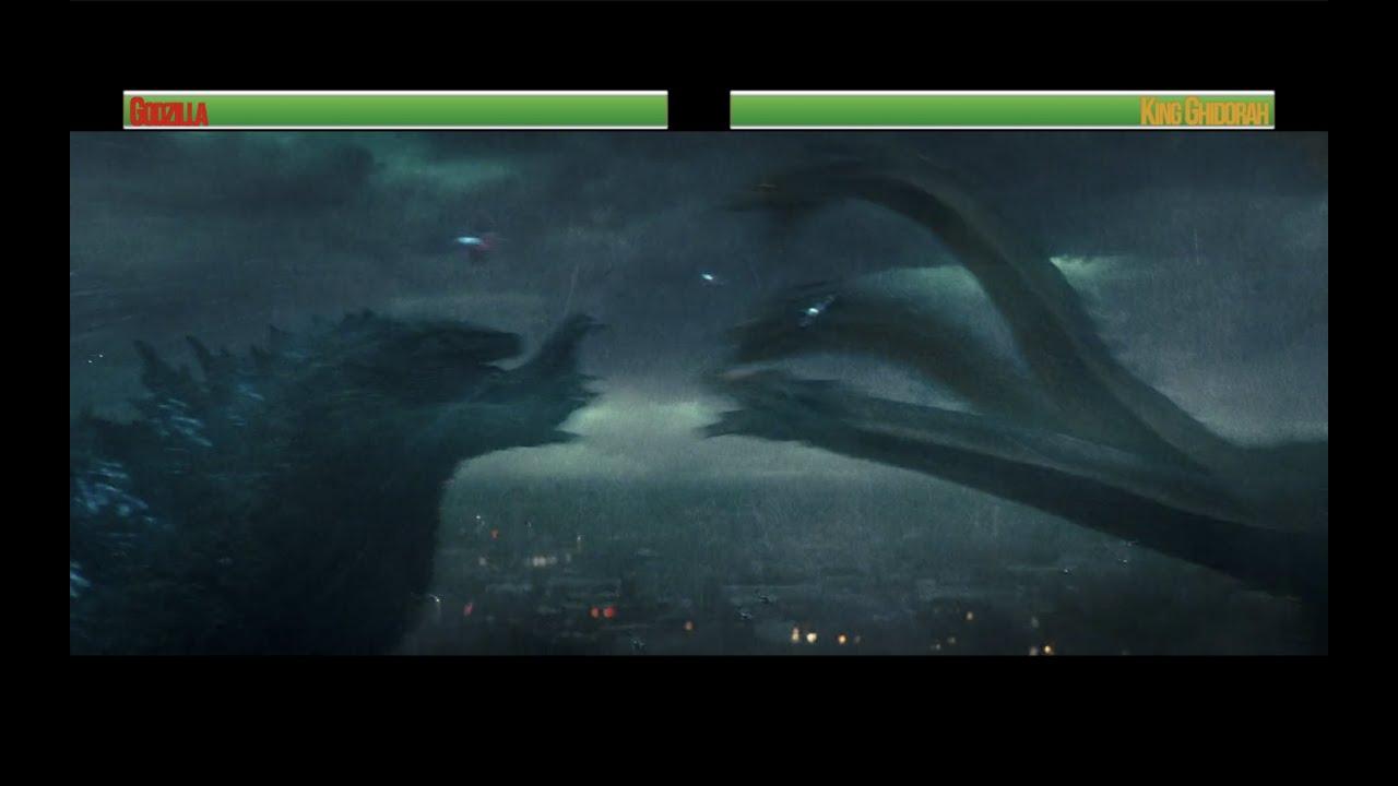 Download Godzilla vs King Ghidorah...with healthbars (Part 1)