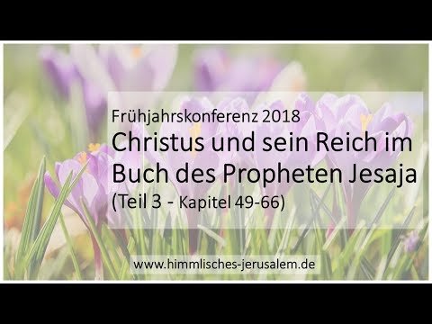 2018 Frühjahrskonferenz 11.Mitteilung