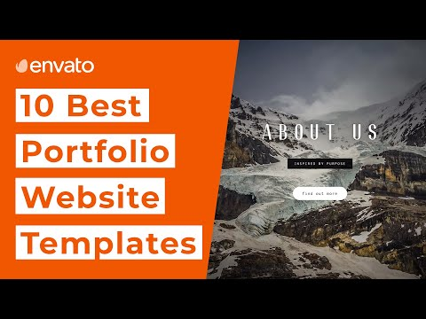 10 Best Website Templates For Your Online Portfolio [2020]
