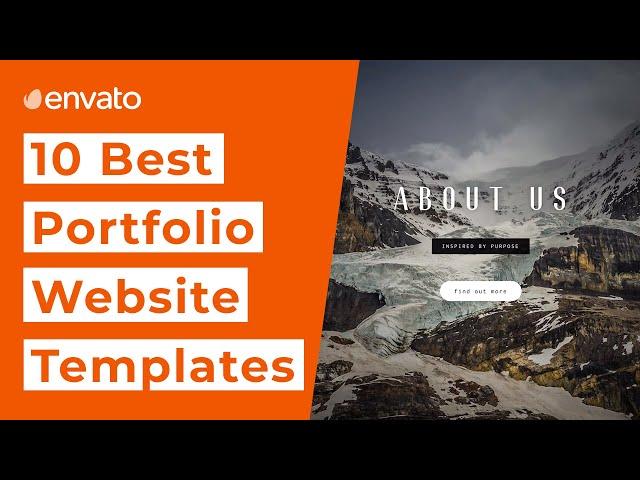 10 Best Website Templates for Your Online Portfolio [2020]
