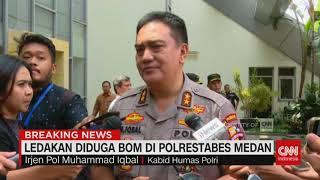 Kronologi Dugaan Ledakan Bom Bunuh Diri di Polrestabes Medan