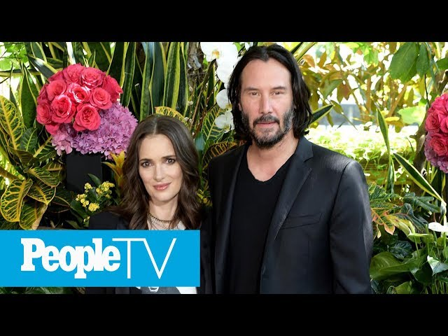 Winona Ryder & Keanu Reeves On How They First Met & Secrets From Their 30-Year Friendship   PeopleTV