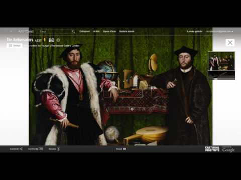 Art Project-Google. Video Tour Della National Gallery