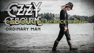 Ozzy Osbourne - Ordinary Man (Lyric)
