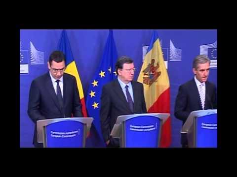 15.11.2013 - Întâlnire cu José Manuel Barroso și Iurie Leancă