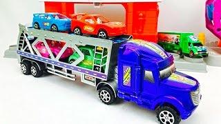 Camión Transportador - Carros de Colores para Niños - Videos para Niños