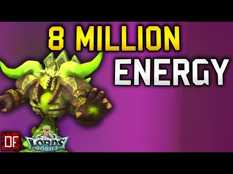 Spending 8 Million Energy On Phantom Knight - Lords Mobile