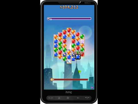 Diamond Detective mobile game - HTC HD2 gameplay