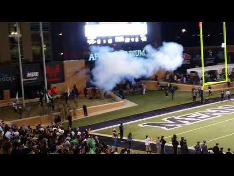 End of the UNT VS ARMY Game November 18th 2017.