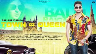 Town Di Queen (Motion Poster) Balli Rajgarhia | Releasing On 16th Feb | White Hill Music