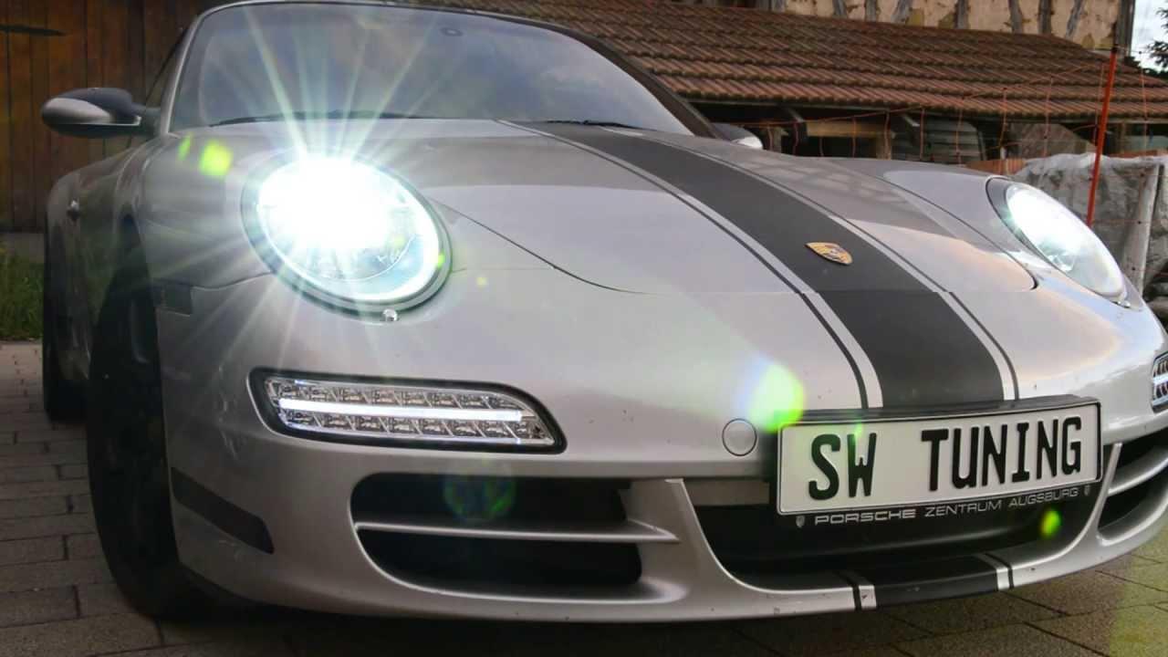 Sw Tuning Einbau Video Tagfahrlicht Modul F 252 R Porsche 911