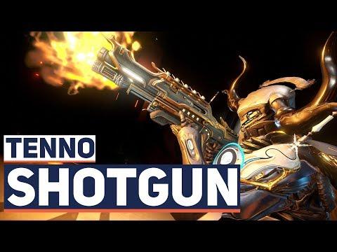 Warframe: INCREDIBLE Satisfaction! Tenno Pump Action Shotgun