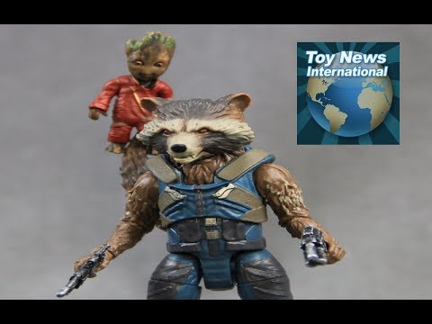 Guardians Of The Galaxy Vol. 2 Rocket Raccoon And Groot Figure Review