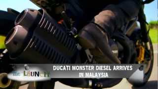 Ducati Monster Diesel 2012 Videos