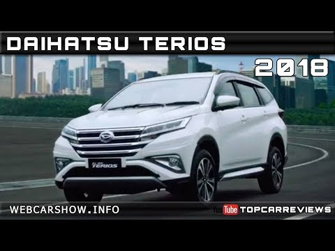2018 DAIHATSU TERIOS Review Rendered Price Specs Release Date