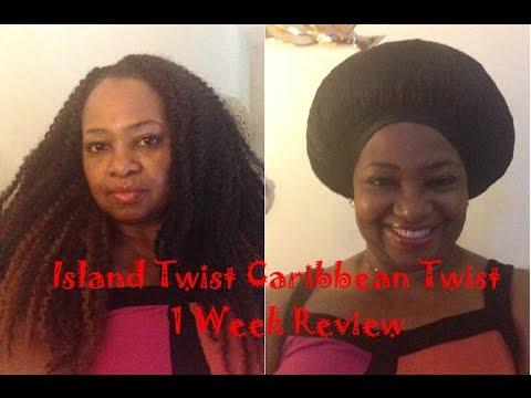 Freetress Island Model Caribbean Twist Braid 1 Week Review You