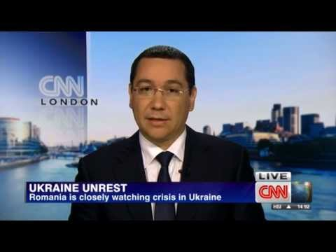 Primul-ministru Victor Ponta The Business View CNN International