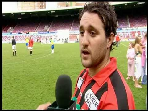 Prank TV with Miss Lee - Charity Celeb Football - Balls Of Steel