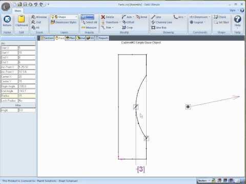 March 2011 TechCast Video - Advanced Shape Editor