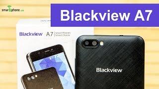 Обзор Blackview A7 - смартфон за $40 и батареей на 2800 мАч