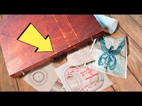 In Müllcontainer fand man einen mysteriösen Aktenkoffer, der ein seltsames Dokument beinhaltete