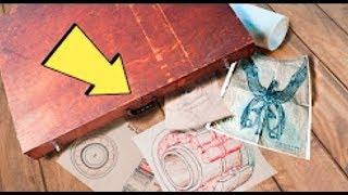 ¡Mysteriöser Aktenkoffer mit Äußerst  Seltsamen Dokumenten Im Müll Entdeckt!