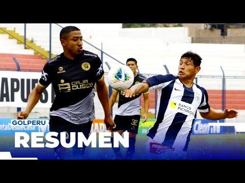 Cusco Alianza Lima Goals And Highlights