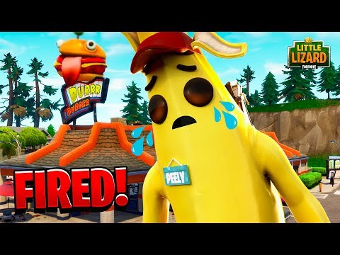 PEELY GETS FIRED!!! - Fortnite Short Films