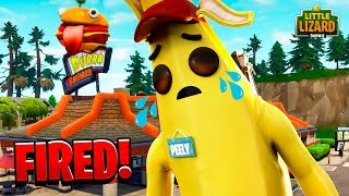 PEELY GETS FIRED!!! - Courts métrages Fortnite