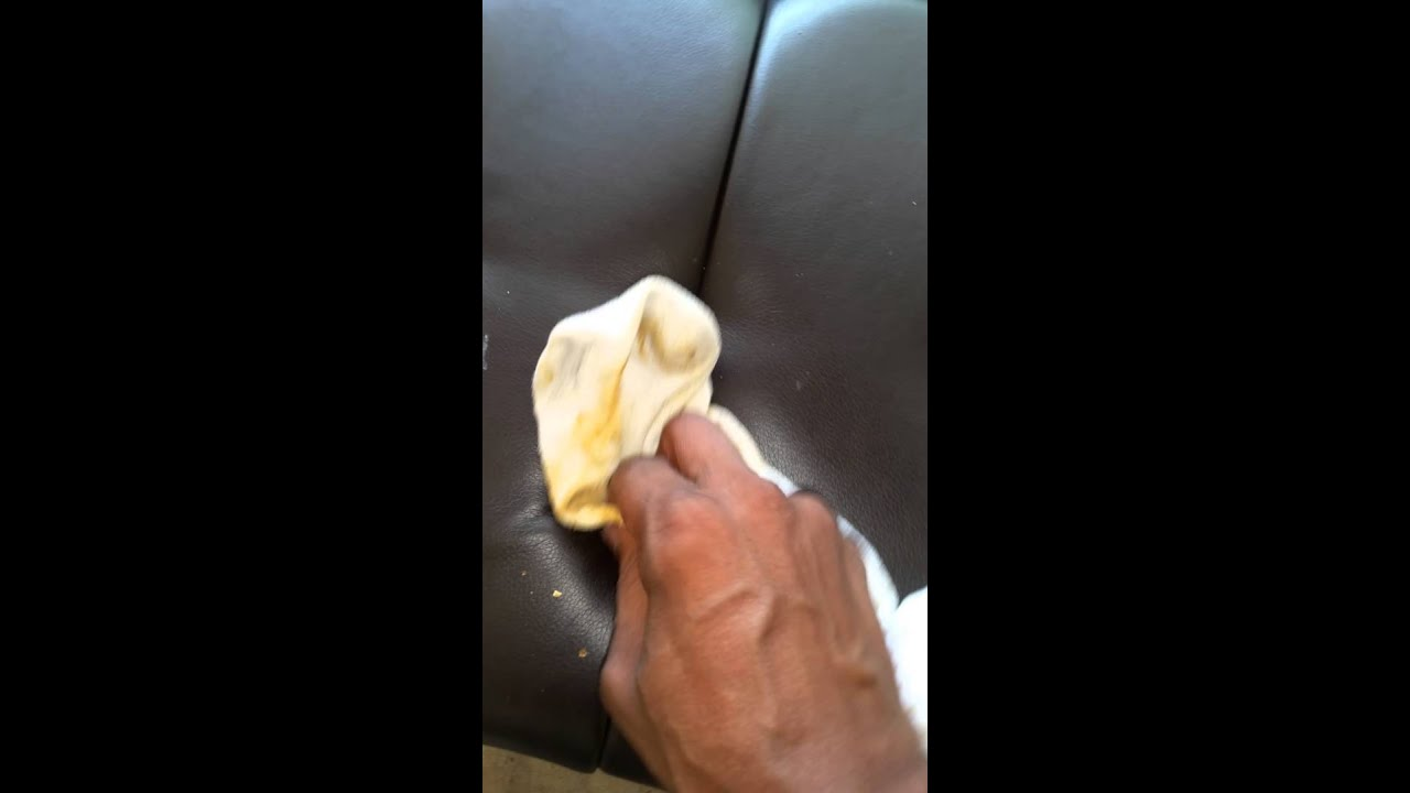 Afro Engineer: How to remove gum from your leather seats... - YouTube