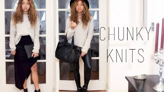THE CHUNKY KNIT | Styling Thumbnail