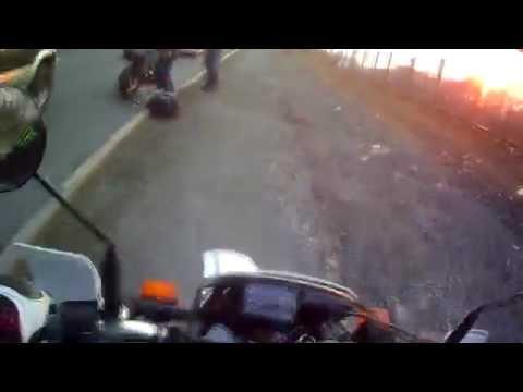 Мотоавария. Владивосток 2014. moto accident -vdk- 18+