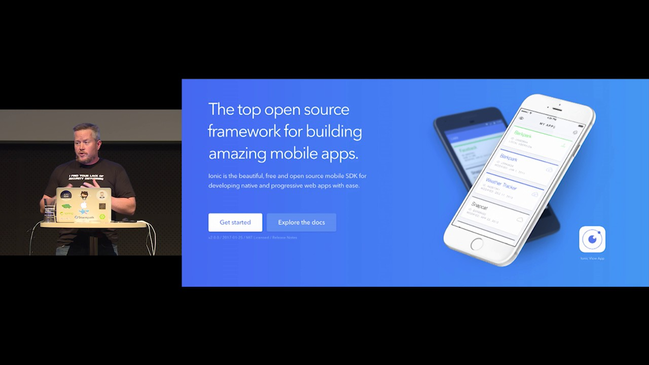Building a PWA with Ionic, Angular and Spring Boot