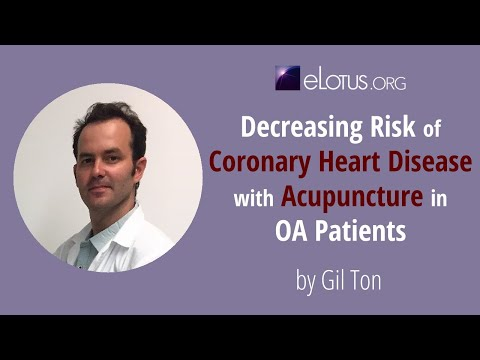 Decreasing Risk Of Coronary Heart Disease With Acupuncture In OA Patients