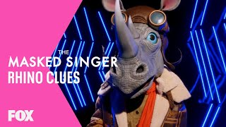 The Clues: Rhino | Season 3 Ep. 16 | THE MASKED SINGER
