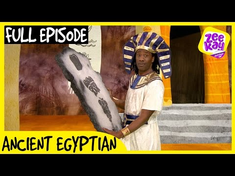 Let's Play: Ancient Egyptian! | FULL EPISODE | ZeeKay Junior
