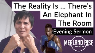 The Reality Is … There's An Elephant In The Room - Mandy Childs - 11th October 2020 - MRC Evening