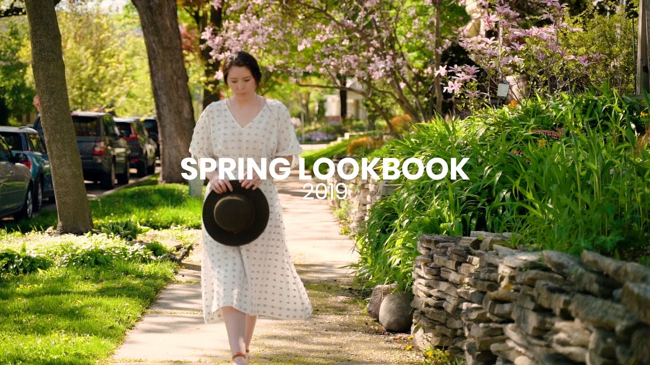 [VIDEO] – My 5 Favorite Spring Outfits I Spring Lookbook 2019