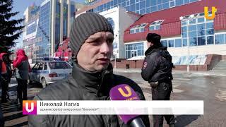 Новости UTV. Пожарные учения в ТЦ Фабри.Стерлитамак.