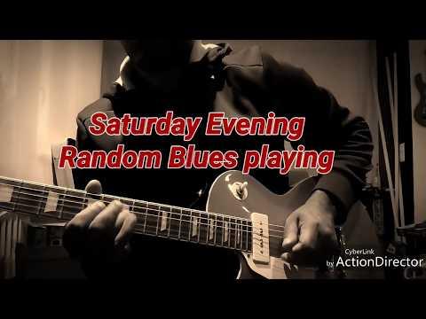 POD HD - Saturday Night Blues with Custom77 London's Burning CS3 Goldtop