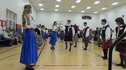 Streets of Milan danced at Annual Ball held in Charlotte, NC each year