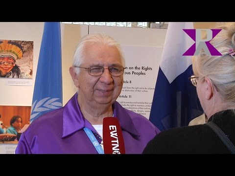 Kenneth Deer, Mohawk Nation , at 30th Human Rights Council / Indigenous People