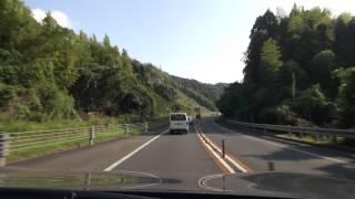 〔隼人道路〕加治木JCT⇒隼人東IC 2012 10 15 HDR CX700V