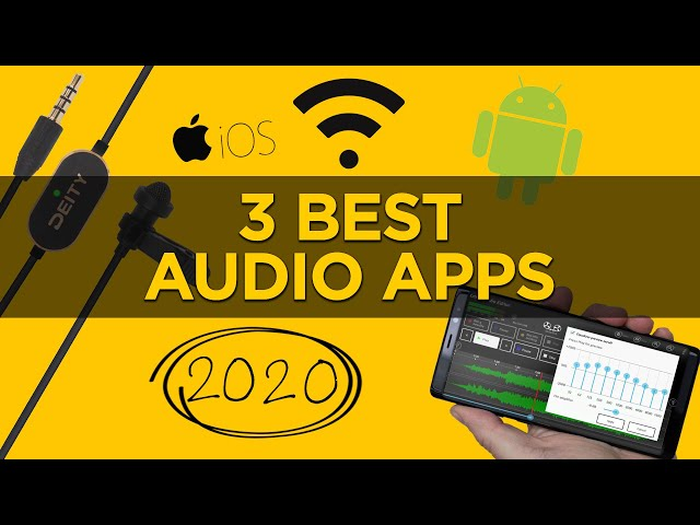 3 Best Audio Apps for 2020 | Apps for Filmmakers