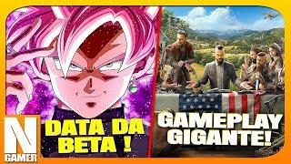 26 Minutos de FAR CRY 5 / Data da OPEN BETA Dragon Ball FighterZ ! - Noberto Gamer