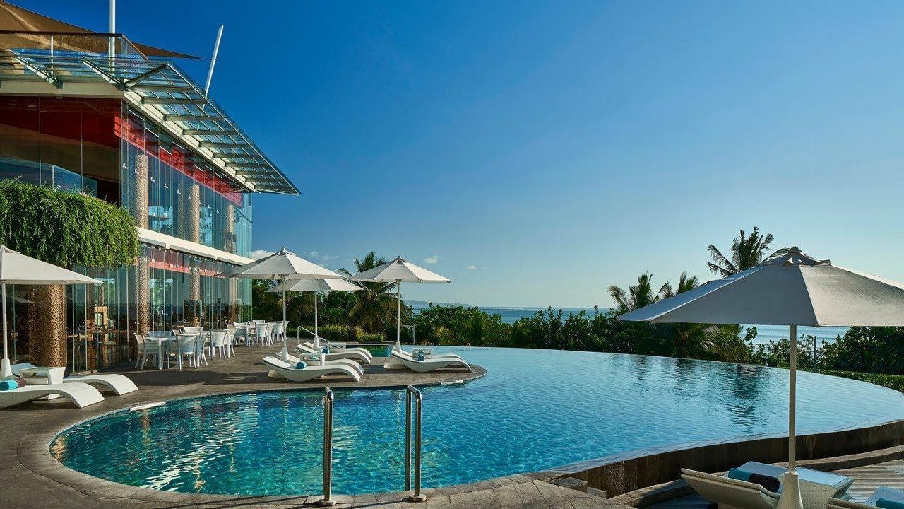 Top 10 Beachfront Hotels Resorts In Kuta Beach Bali Indonesia Youtube