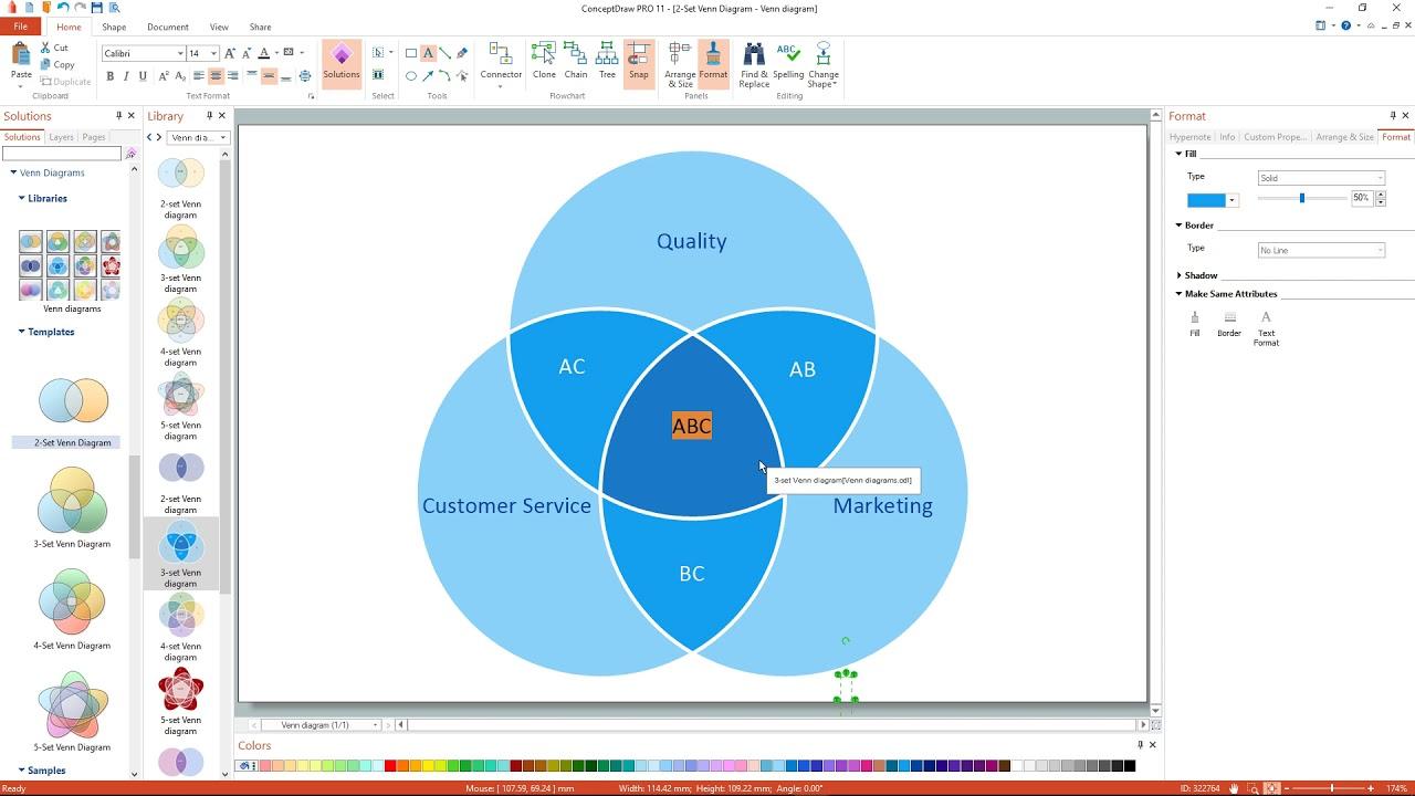 How to create a venn diagram youtube how to create a venn diagram pooptronica Choice Image