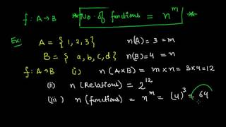 Finding Number of Functions | IIT-JEE Mathematics