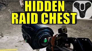 Destiny: Hidden LEGENDARY/EXOTIC Raid Chest!