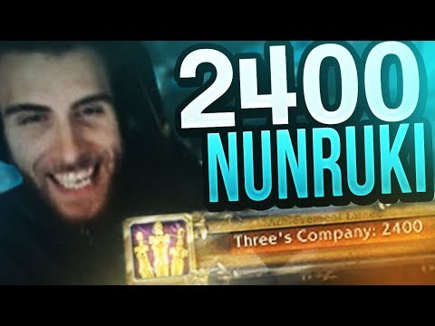 HITTING 2400 ON NUNRUKI FOR THE FIRST TIME! Venruki Legion Arena Gameplay